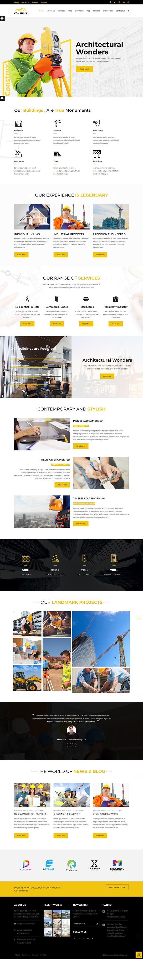 Construx - Construction WP Theme