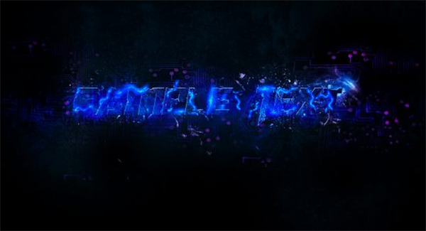 Create an Electrified Text Effect in Photoshop