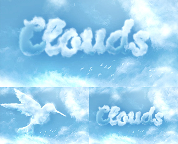 How to Create a Cloud Effect in Photoshop