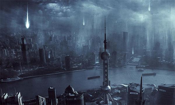 Alien Invasion Scene Creation in Photoshop