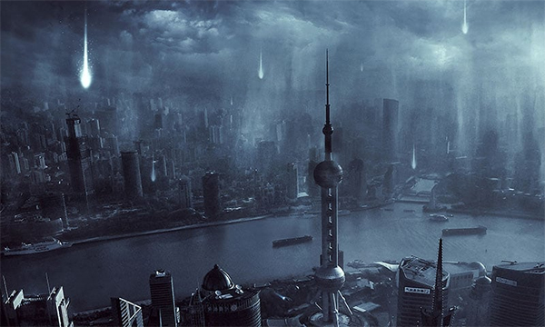 VIP Exclusive Tutorial – Alien Invasion Scene Creation in Photoshop