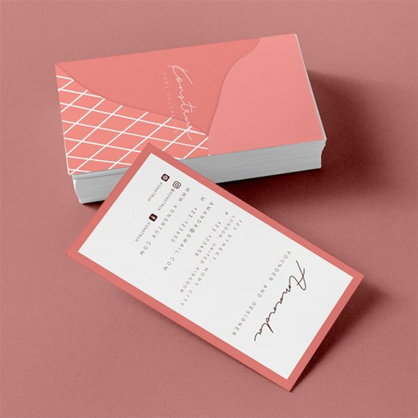 Konstruk Business Cards