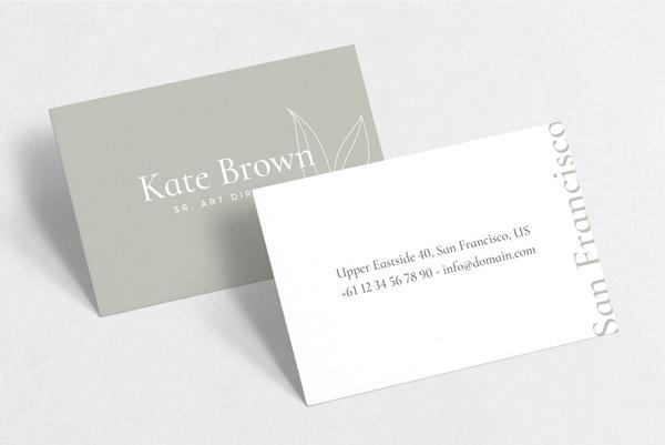San Francisco Business Cards