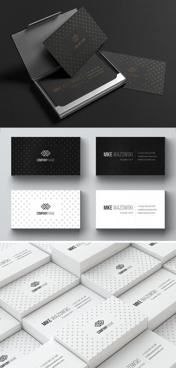 Wazowski Business Card Template