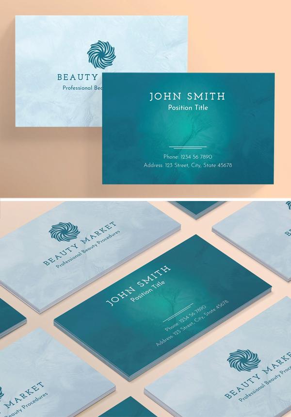 Beauty Market Business Card