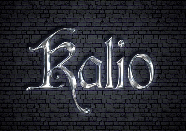 How to Create a Medieval Metallic Text Effect in Adobe Photoshop