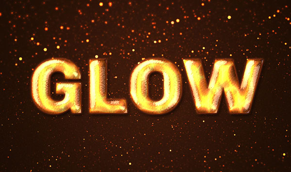 How to Create a Fiery, Molten Text Effect in Adobe Photoshop