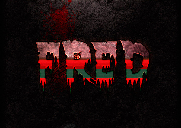 How to Create a Freddy Krueger Inspired Text Effect in Adobe Photoshop