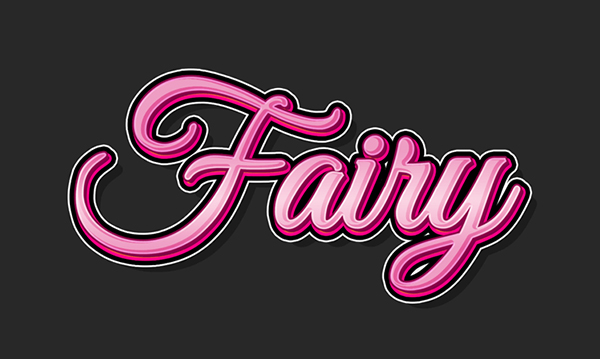 How to Create a Cartoon Gradient Text Effect in Adobe Photoshop