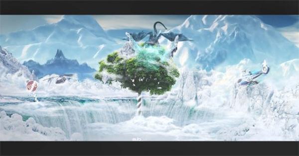 Create Paradise Landscape in Photoshop
