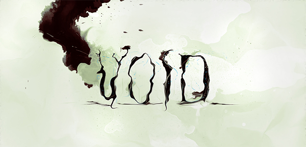 Design Fluid Typography on Watercolour Background in Photoshop