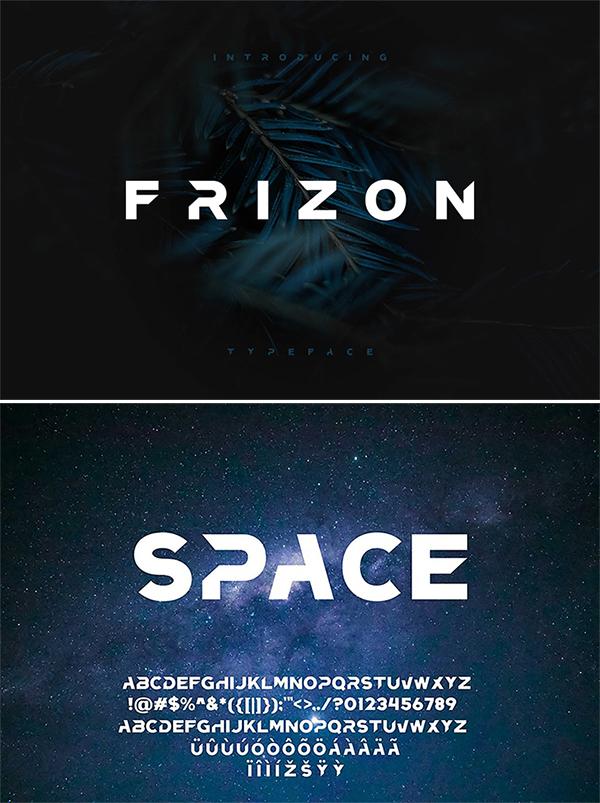 Free Download Stylish Frizon Display Font For Designers