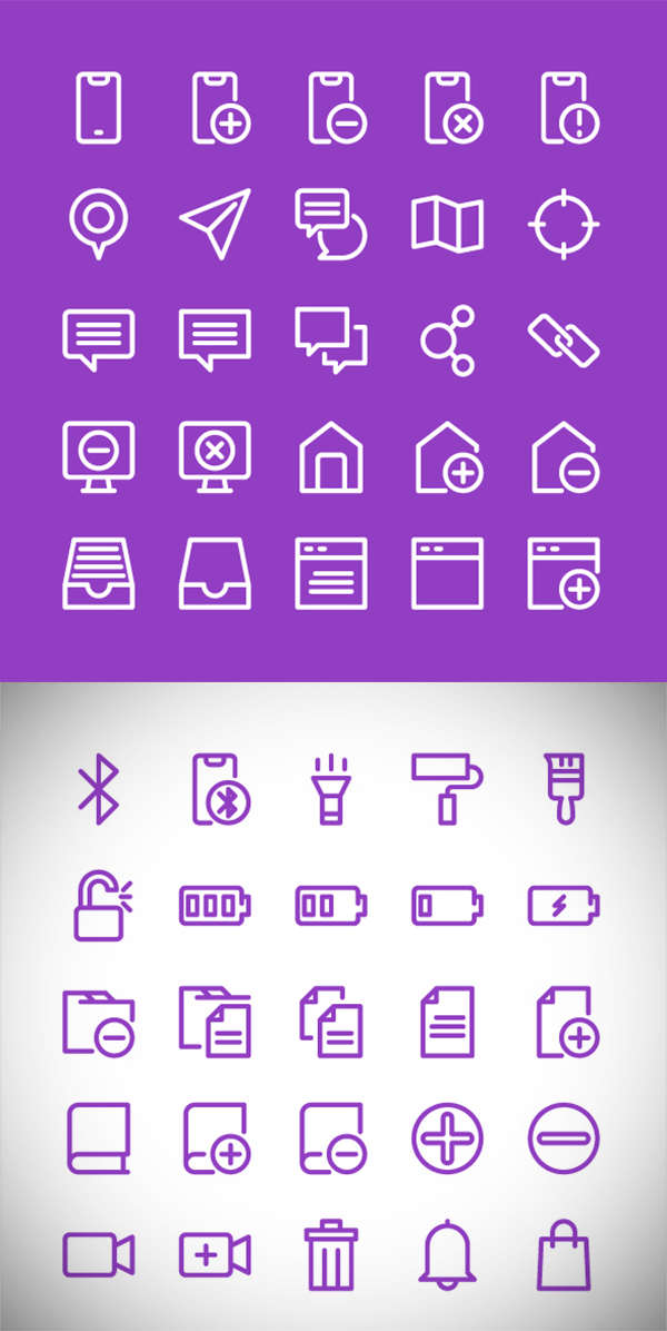 Free 100 User Interface Icons