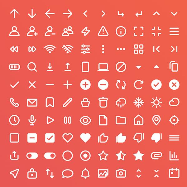 Free Icon Set 100 Icons