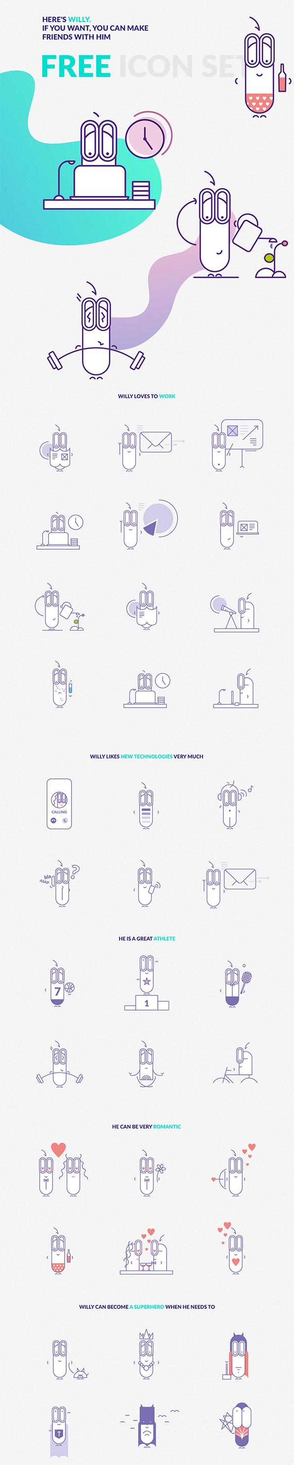 Free Icon Set | 36 | EPS