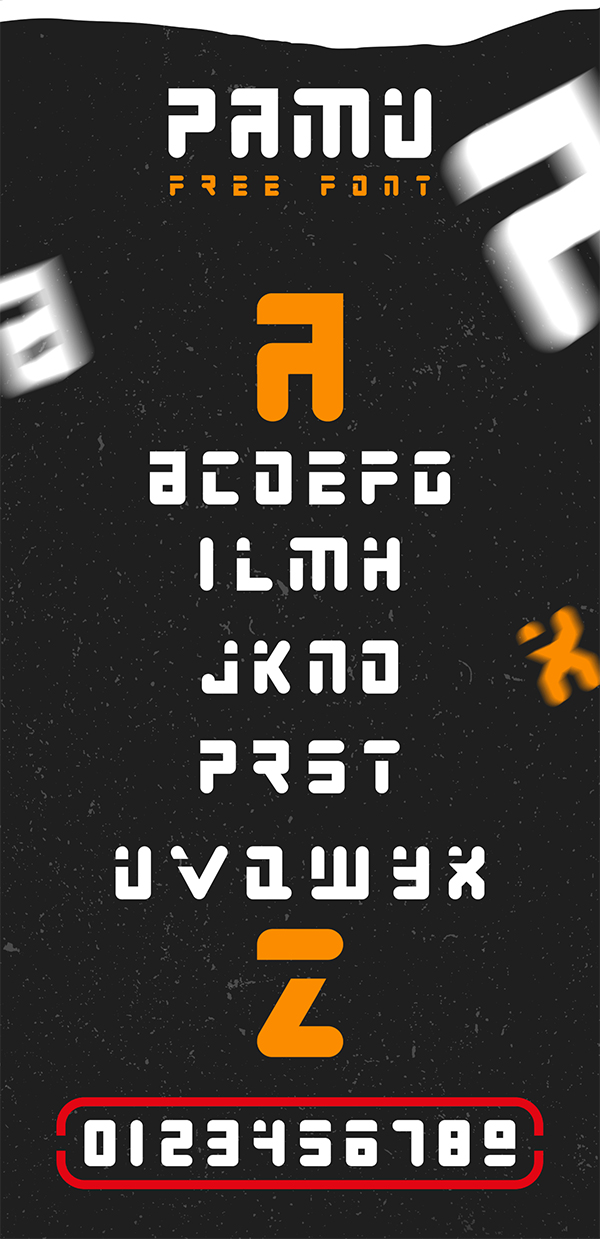 Free Futuristic Display Font