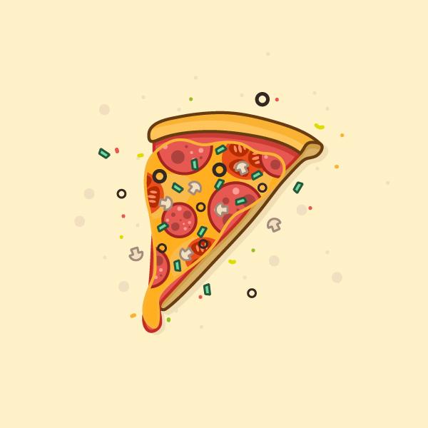 Illustration: Create a Delicious Pizza