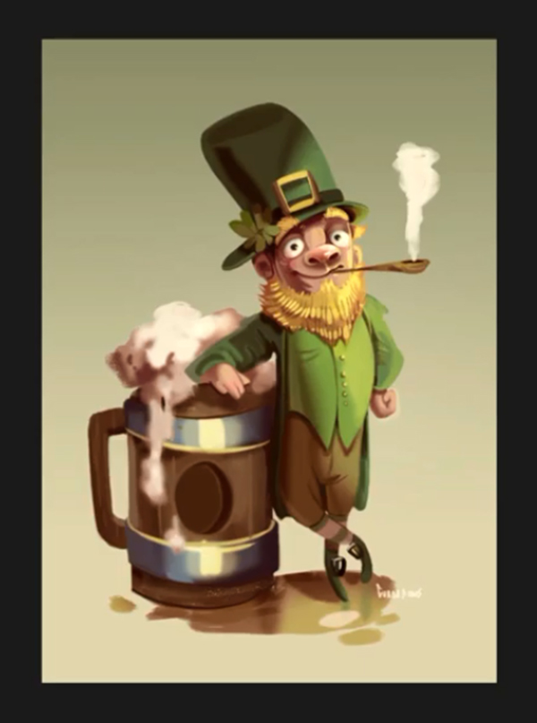Illustration: Create a St Patrick's Character