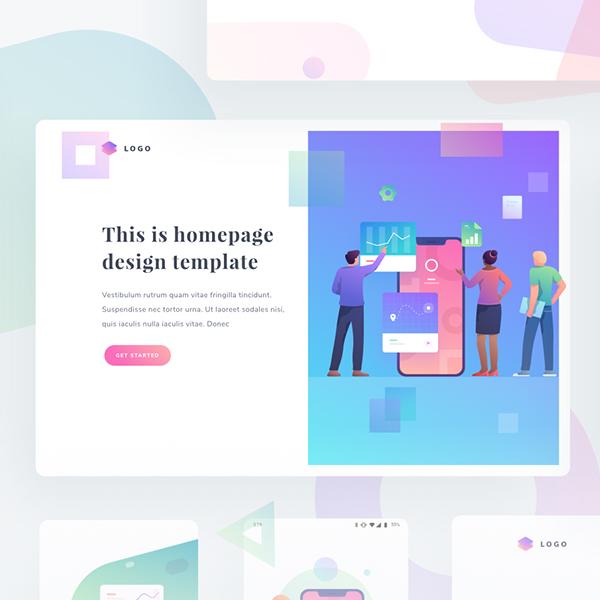 Custom graphics and illustrations
