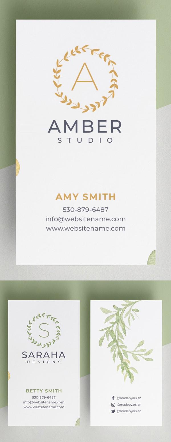 Saraha – Minimal Business Card