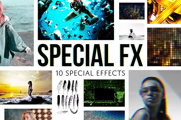 Special Effects - Halftone Photoshop Actions