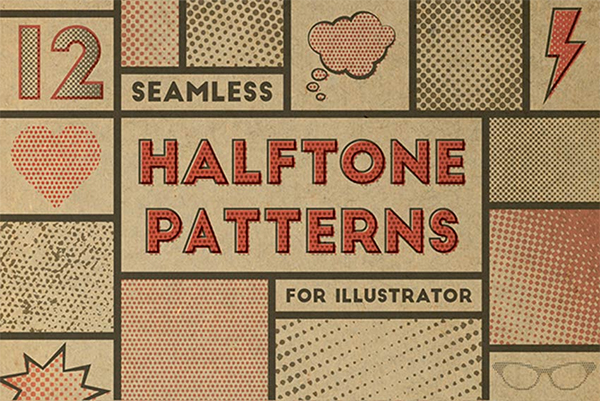 Elegant Halftone Patterns