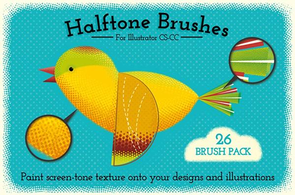Perfect Halftone Brushes