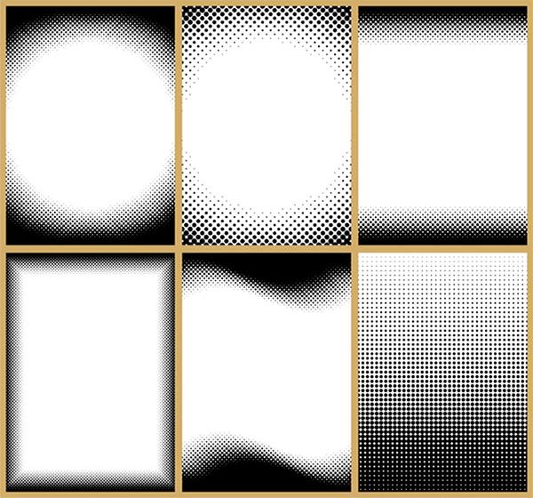 Creative Halftone Frames