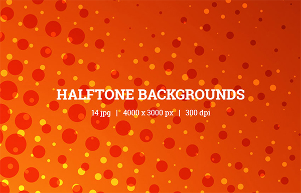 Awesome Comic Halftone Backgrounds
