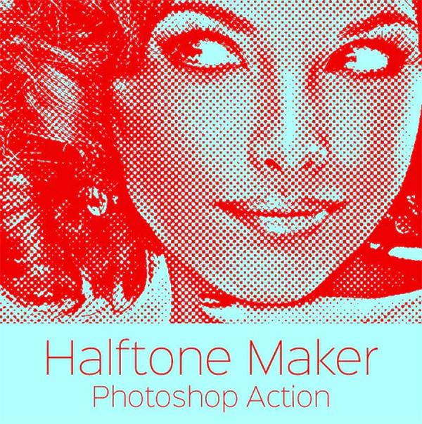 Halftone Maker - Photoshop Action