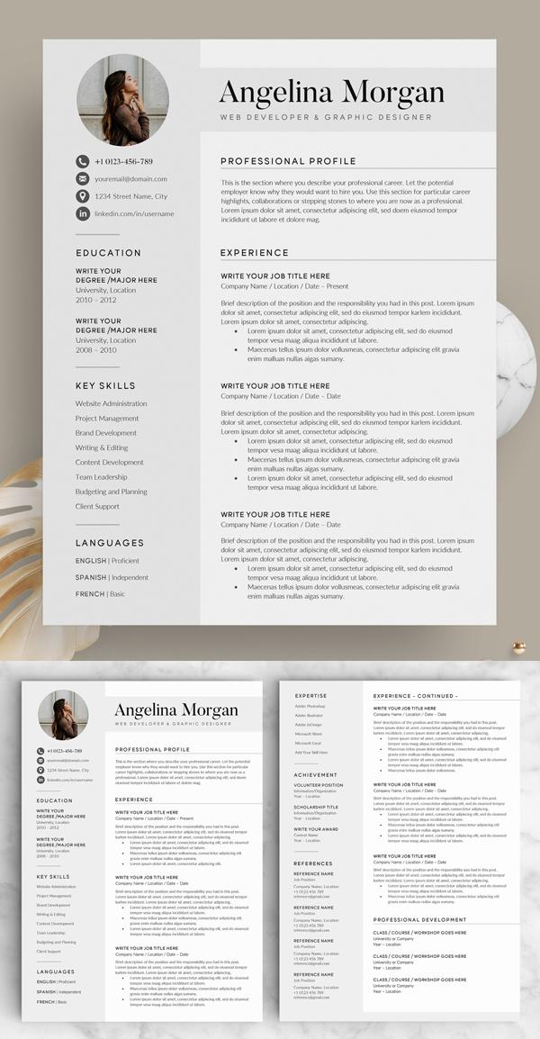 Resume/CV - The Angel