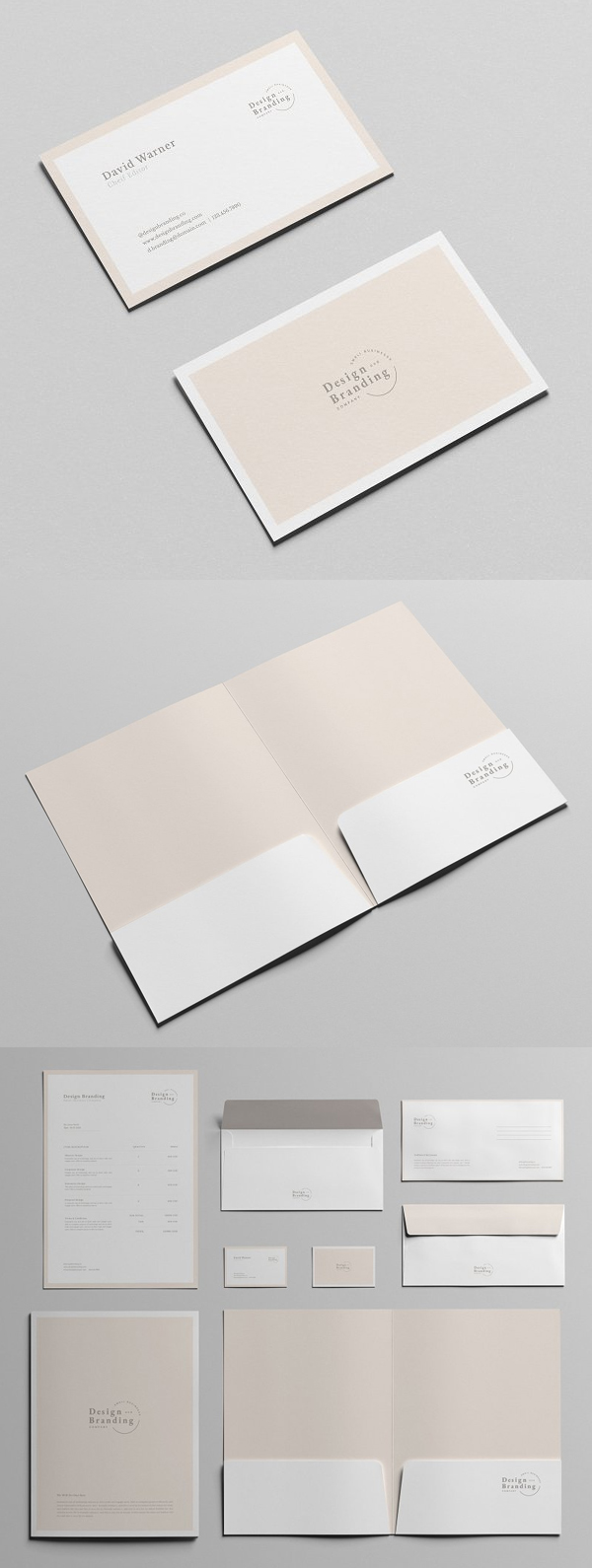 Fresh and Clean Stationery Template