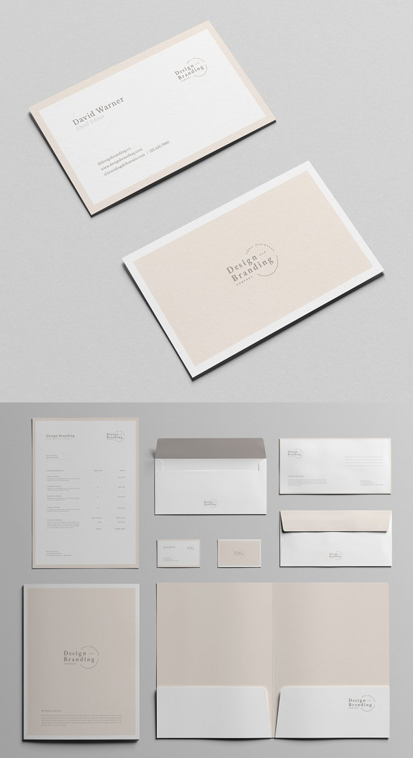 Simple Stationery Template