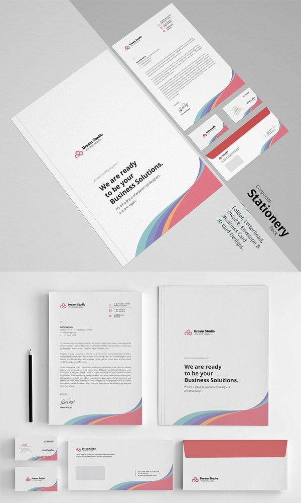 clean Corporate Identity Pack