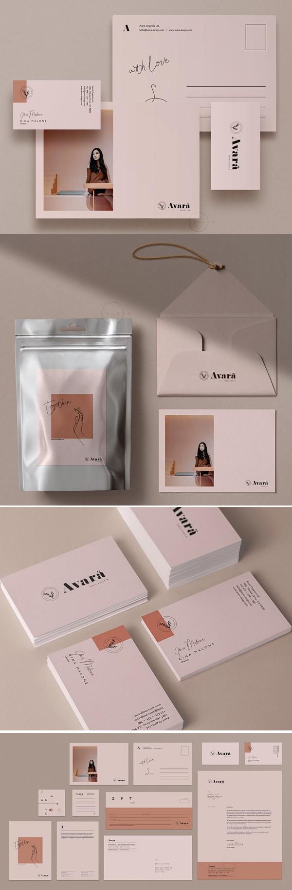 Avara Brand Stationery Pack