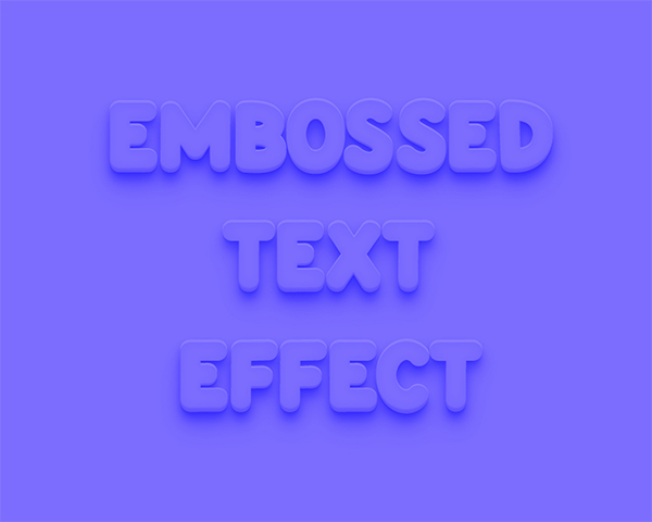 How to Emboss Text in Illustrator