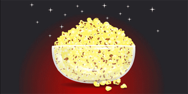 How to Create Popcorn In Glass Bowl