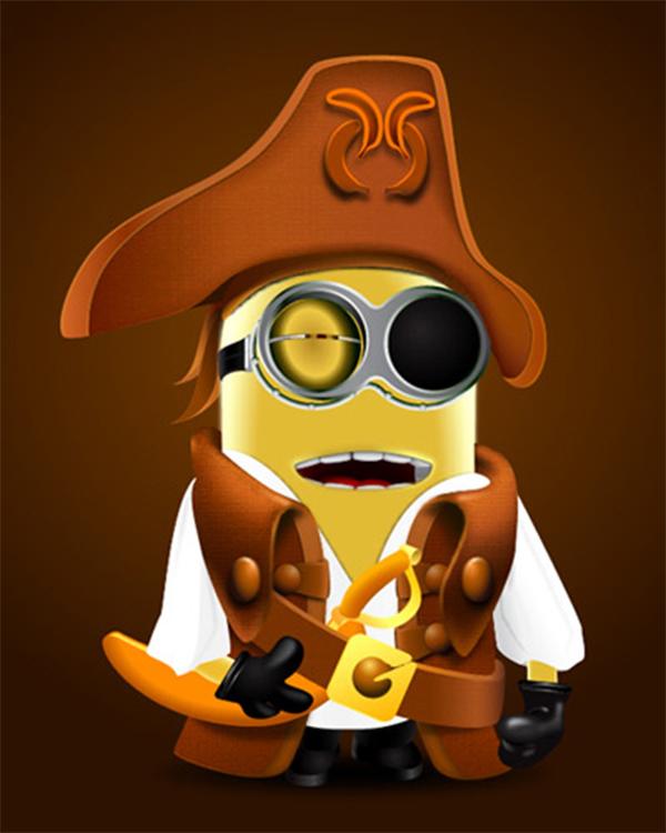 How to Create Pirate Minion