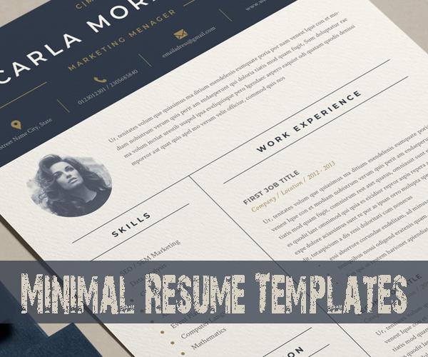 minimal_resume