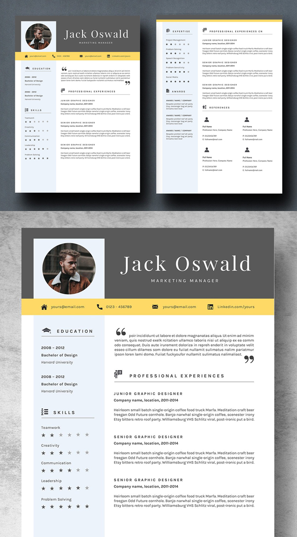 Professional Resume Template - JACKY