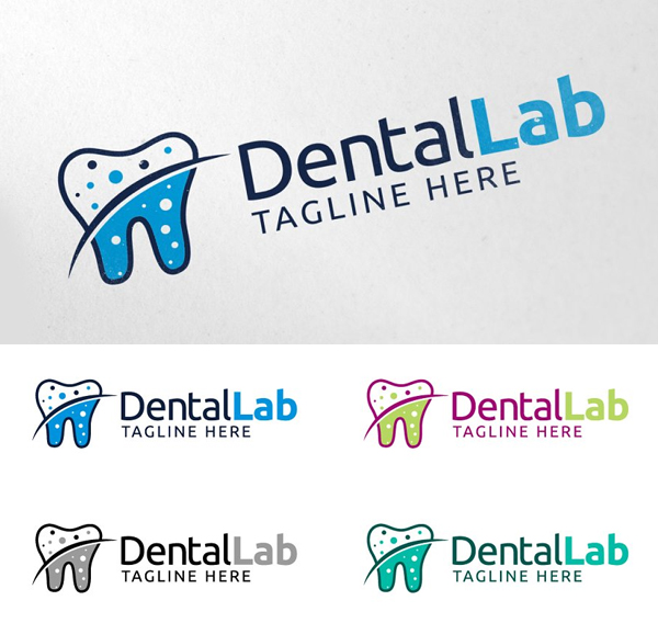 Dental Lab Logo Design