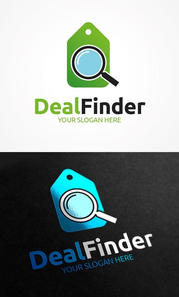 Deal Finder Logo Design