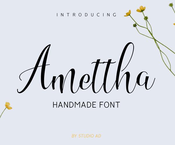 amettha_free_font