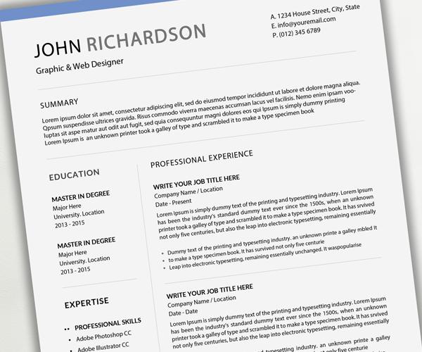 clean_resume_cv
