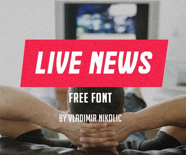 live_news_free_font