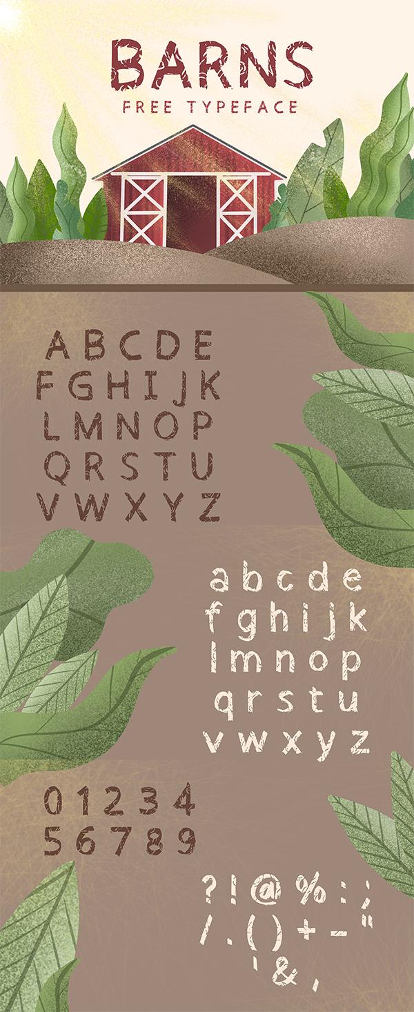 Barns Free Font