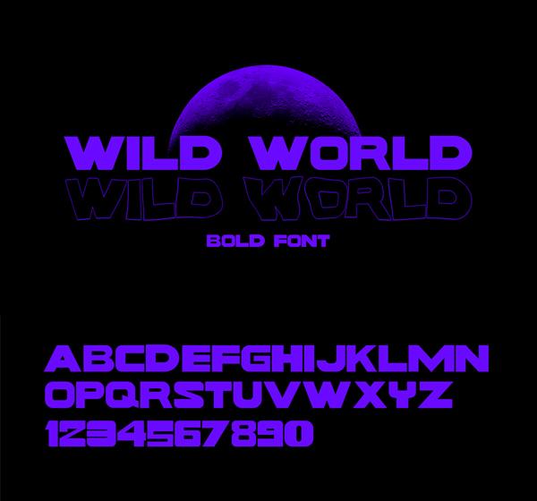 Wild World Free Font