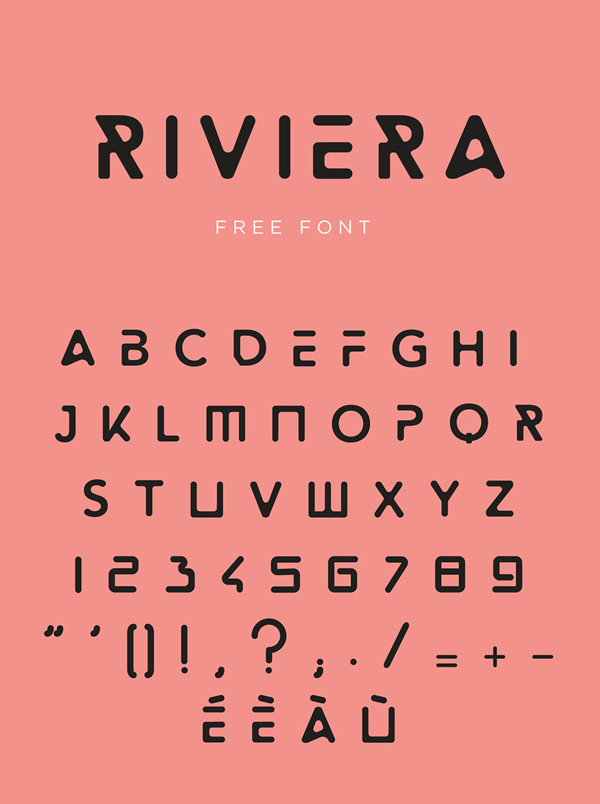 Riviera Free Font