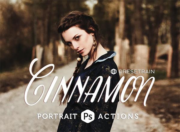 Cinnamon Portrait Actions