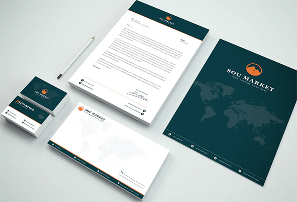 Branding Identity & Stationery Pack